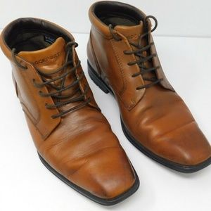 Rockport Adidas Mens Hydro Shield Boots Caramel